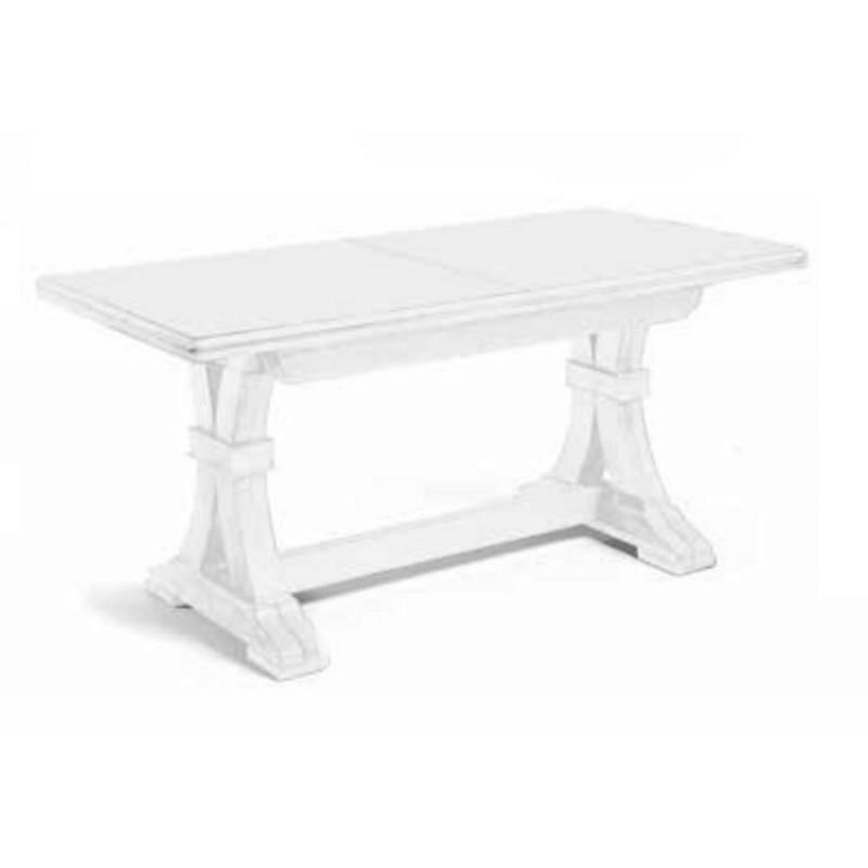 Tavolo rettangolare Bianco Allungabile Art 739