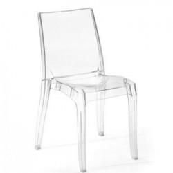 sedia in policarbonato art 6138/a