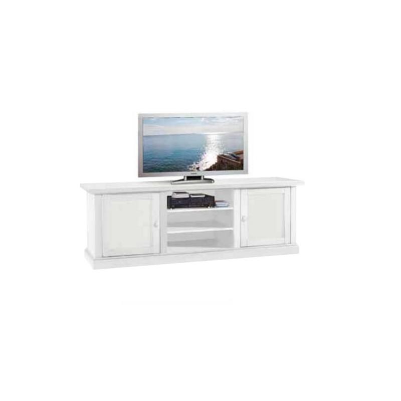 Porta TV in Legno Bianco art 1365