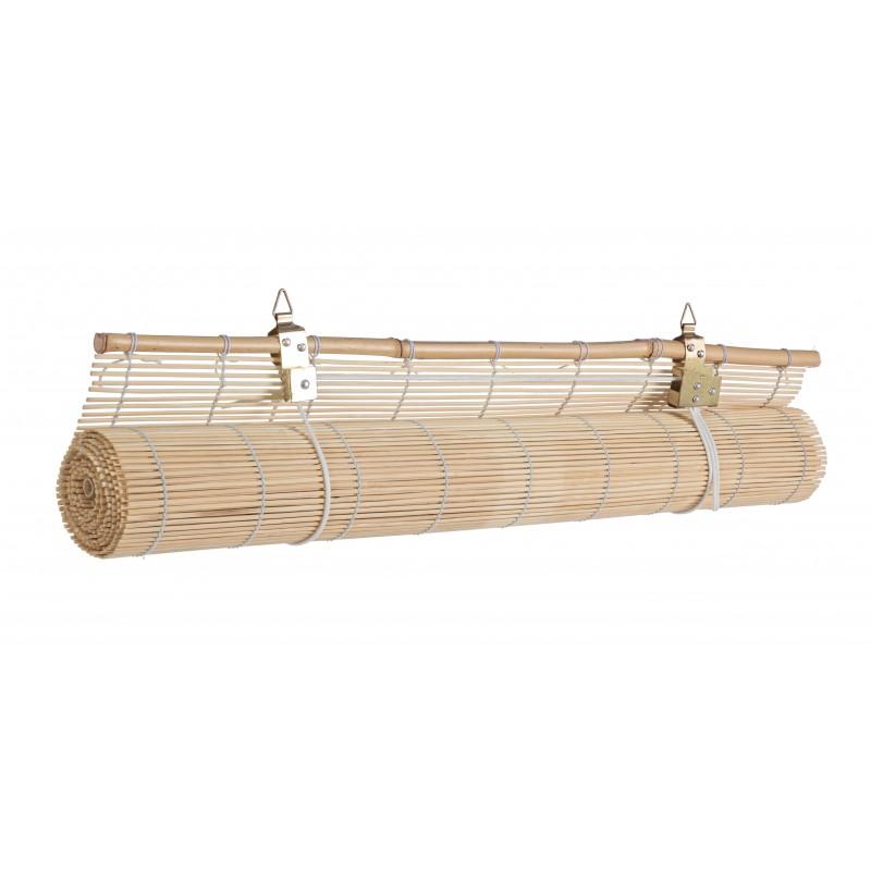Mobile dispensa in bianca legno con vetrinetta cassetti e 2 ante