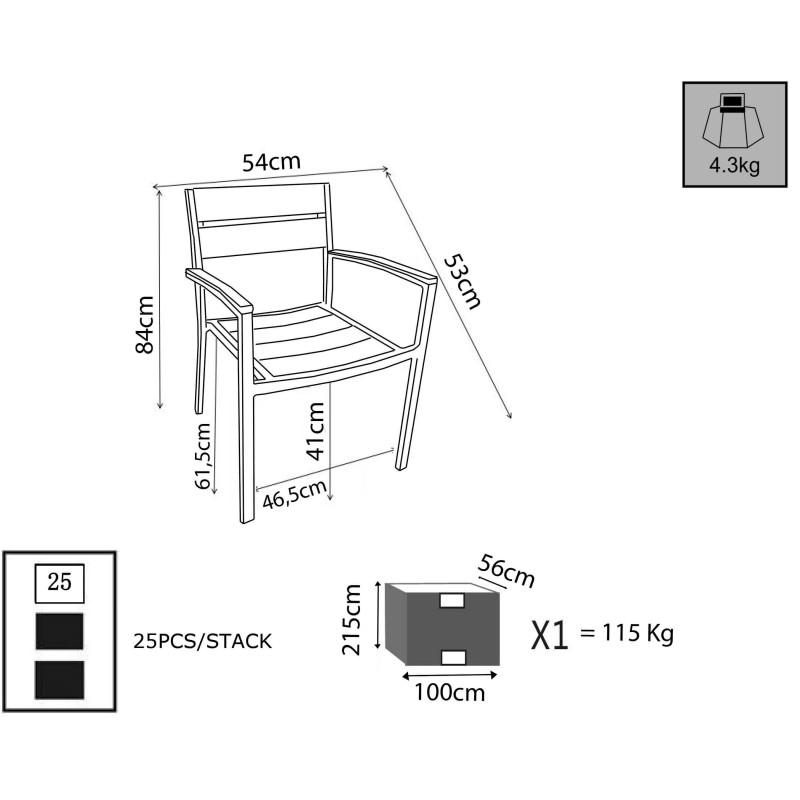Mobile Vetrina in Legno con Ripiani Vetro, Dimensione m 89 x 34 H 170