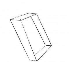 Scrivania in legno Tulipier cm 107x56